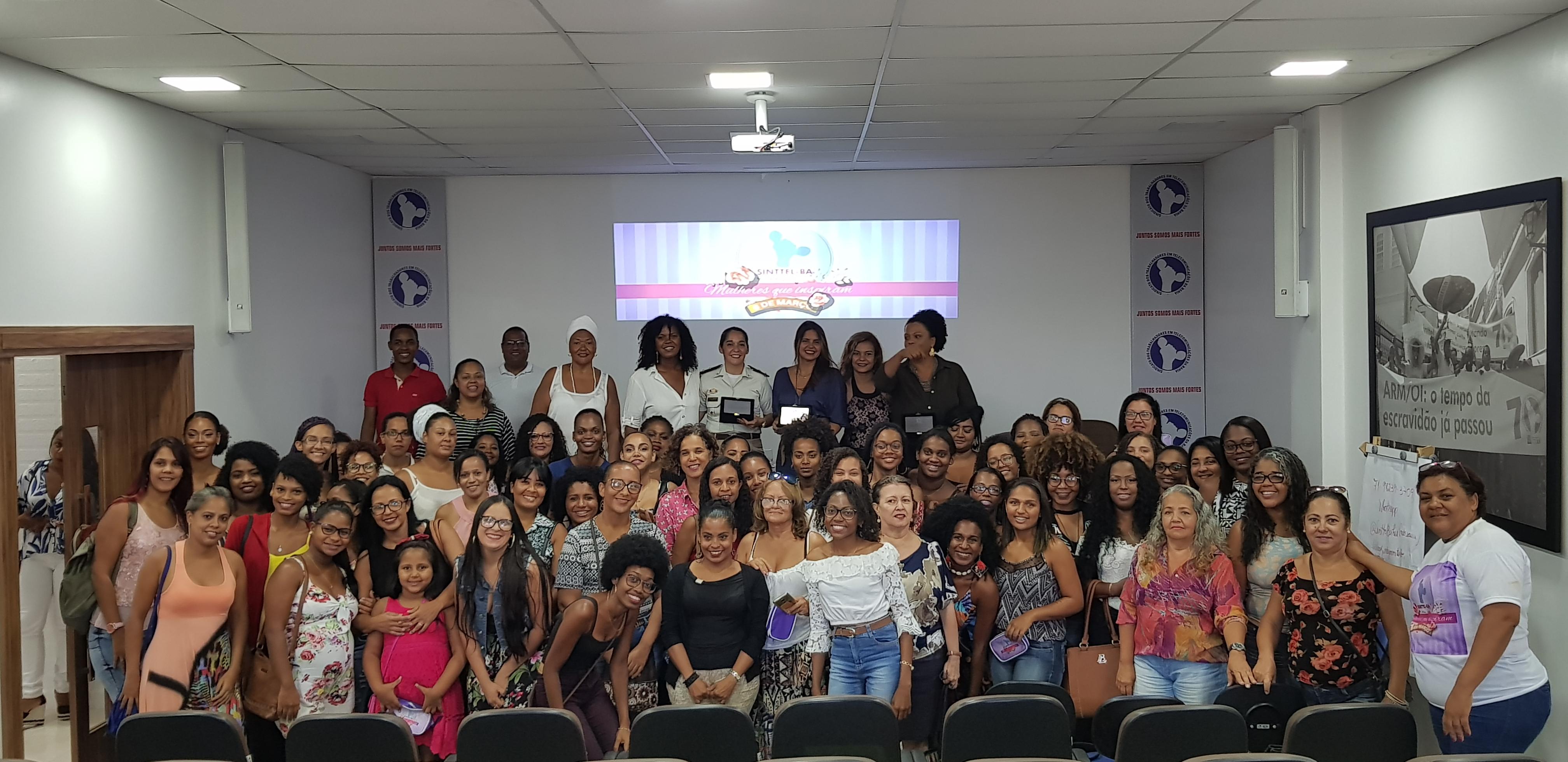 Sinttel realiza evento 'Mulheres que Inspiram', em homenagem às mulheres telefônicas