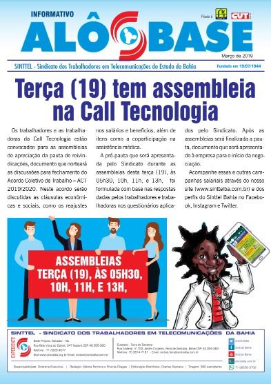 Terça (19) tem assembleia na Call Tecnologia