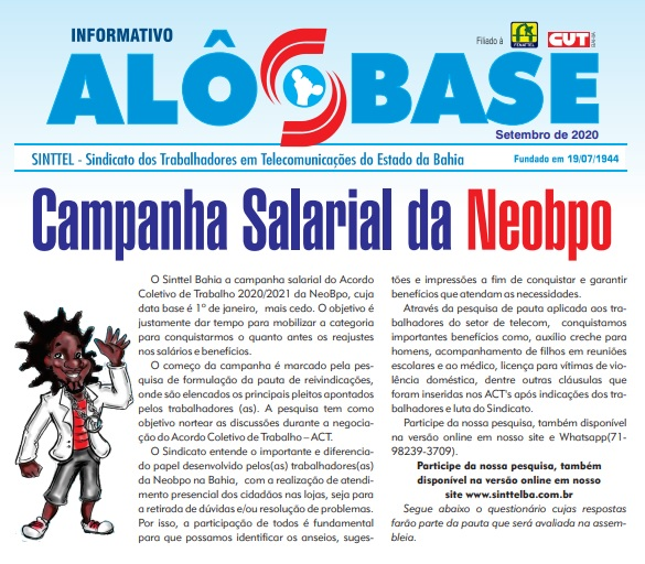 Campanha salarial da Neobpo