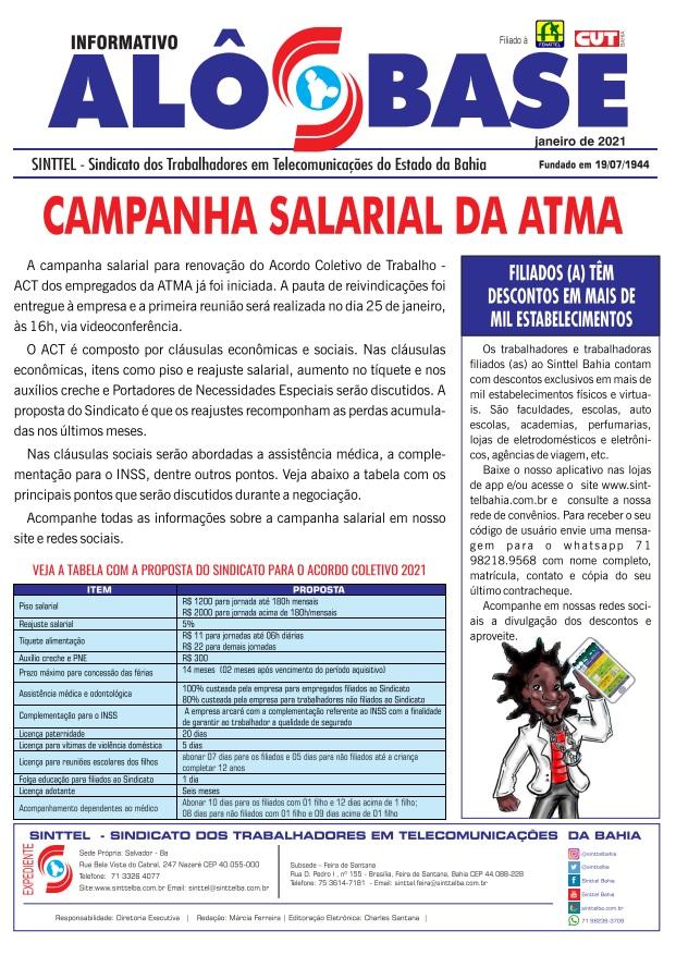 Campanha salarial da ATMA/LIQ