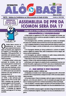 Assembleia de PPR da Icomon será dia 17