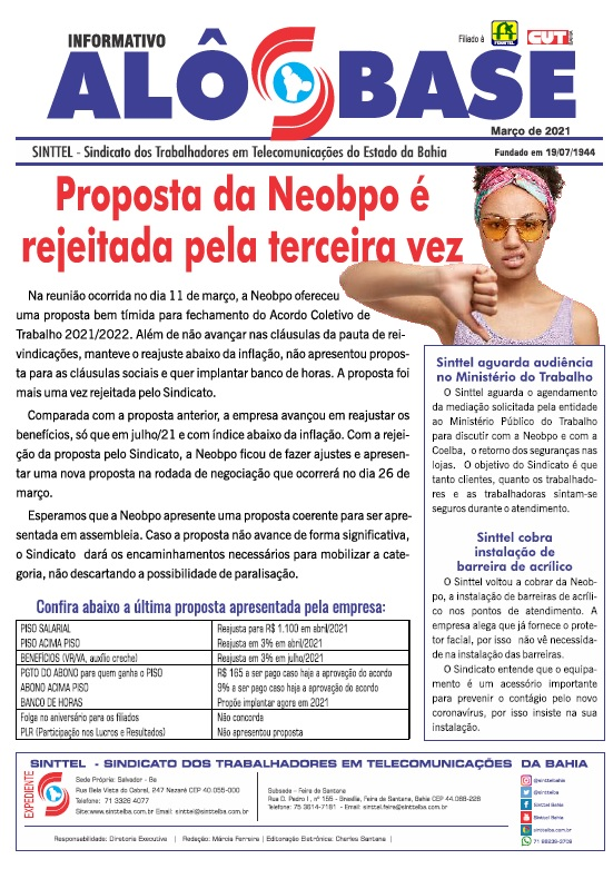 Proposta da Neobpo é rejeitada pela terceira vez