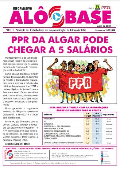 PPR da Algar pode chegar a 5 salários