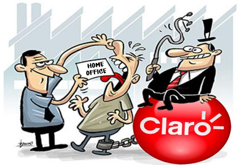 CLARO anuncia convênio farmácia, mas se recusa a apresentar proposta de ajuda de custo para o teletrabalho