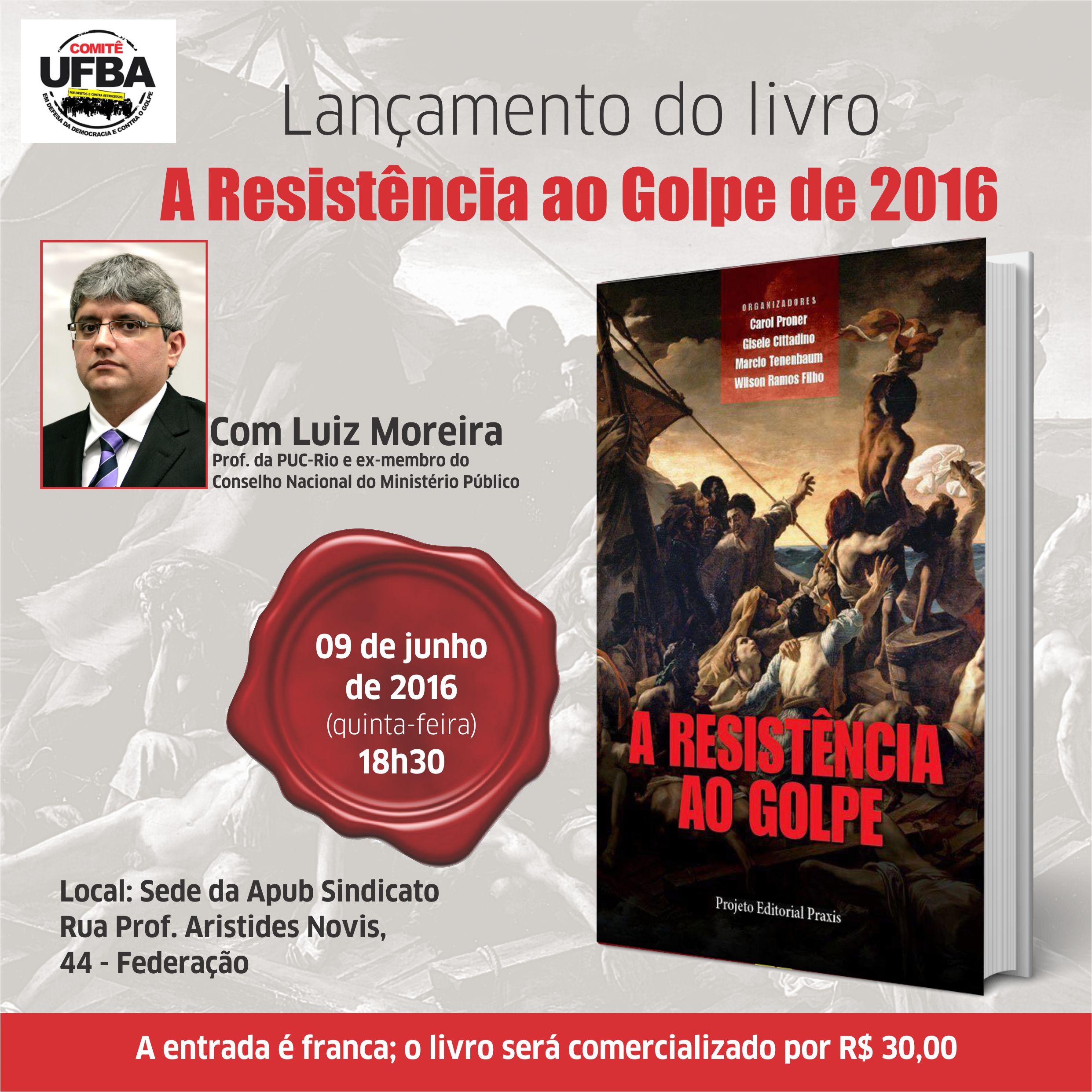 Comitê UFBA promove lançamento do livro