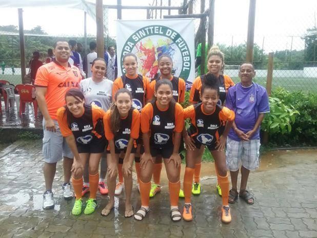 Futebol feminino foi destaque na segunda rodada da Copa Sinttel