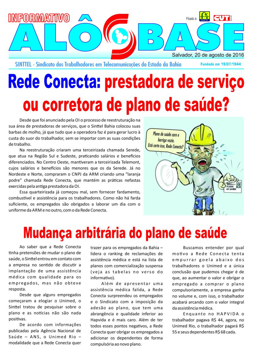 Rede Conecta: prestadora de serviço ou corretora de plano de saúde?