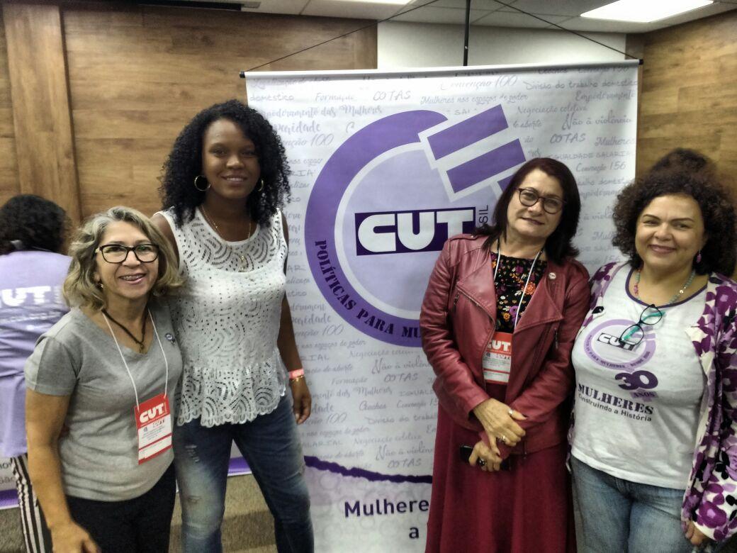 Sinttel participa dos 30 anos da secretaria de mulheres da CUT