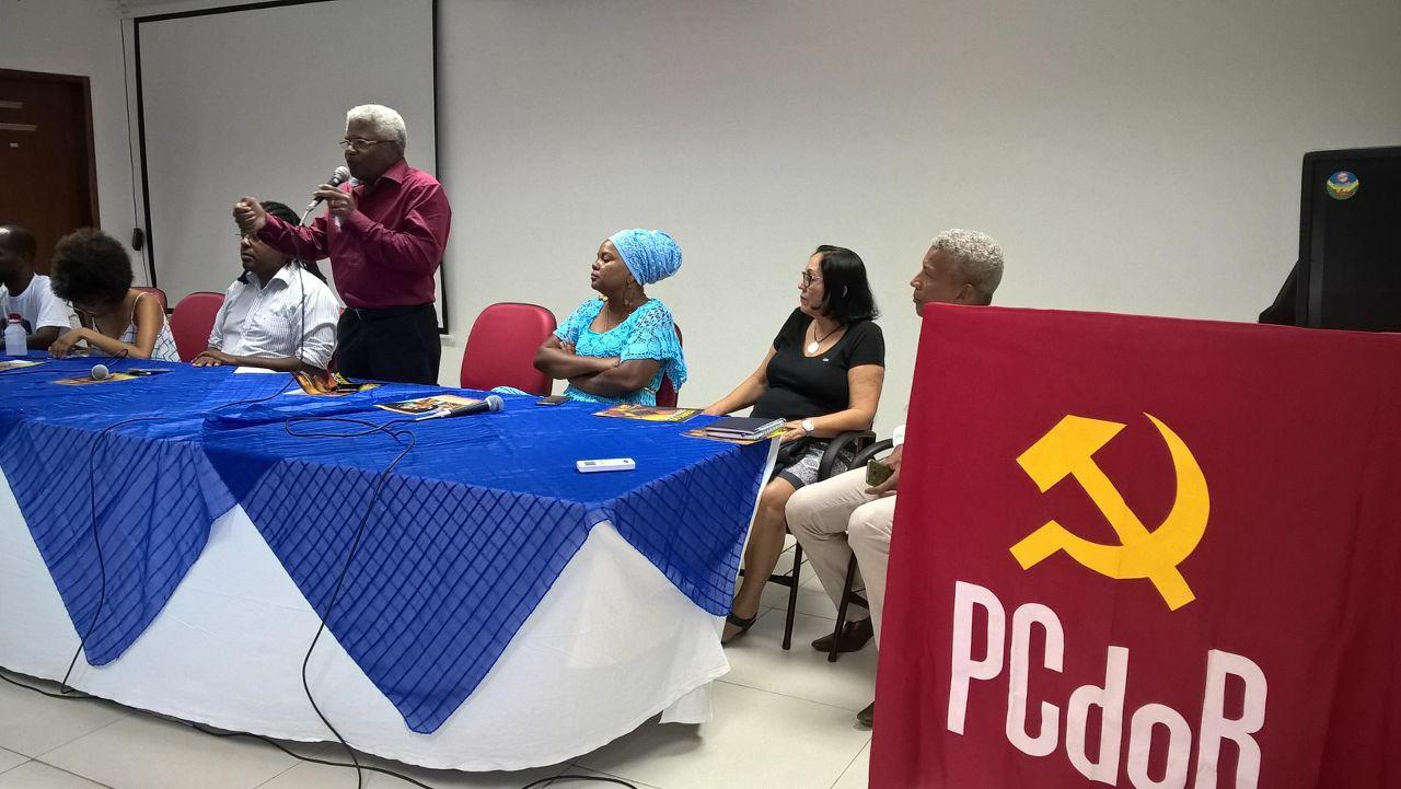 Sinttel participa de encontro de combate ao racismo