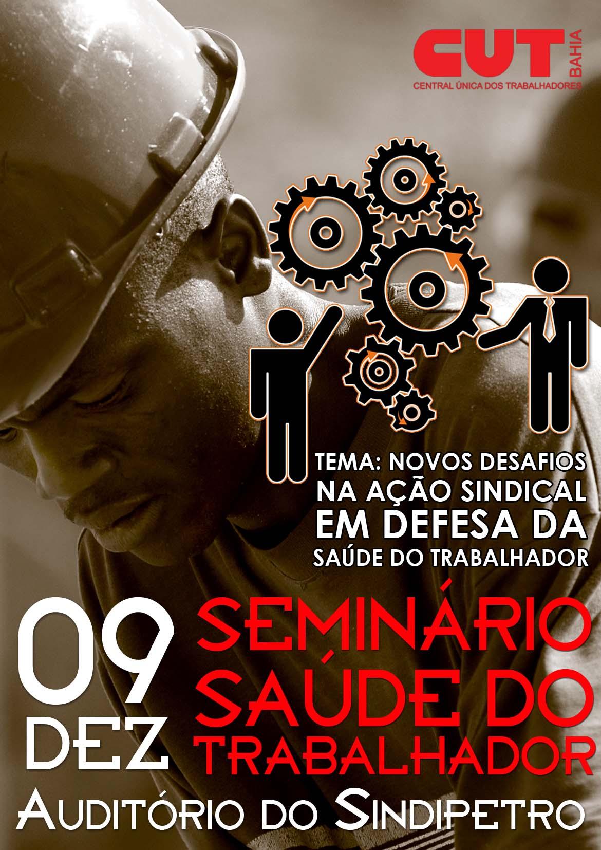 Sinttel Bahia participa de seminário sobre a saúde do trabalhador