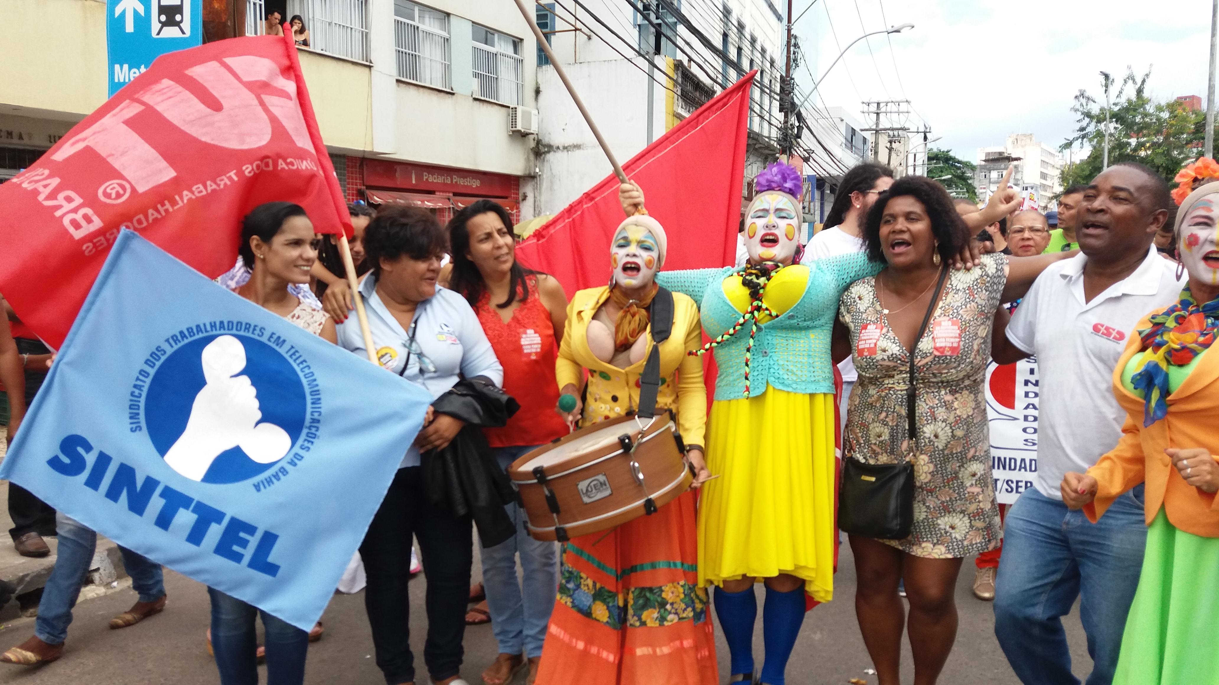 Sinttel vai às ruas contra Terceirização, Reforma da Previdência e Trabalhista