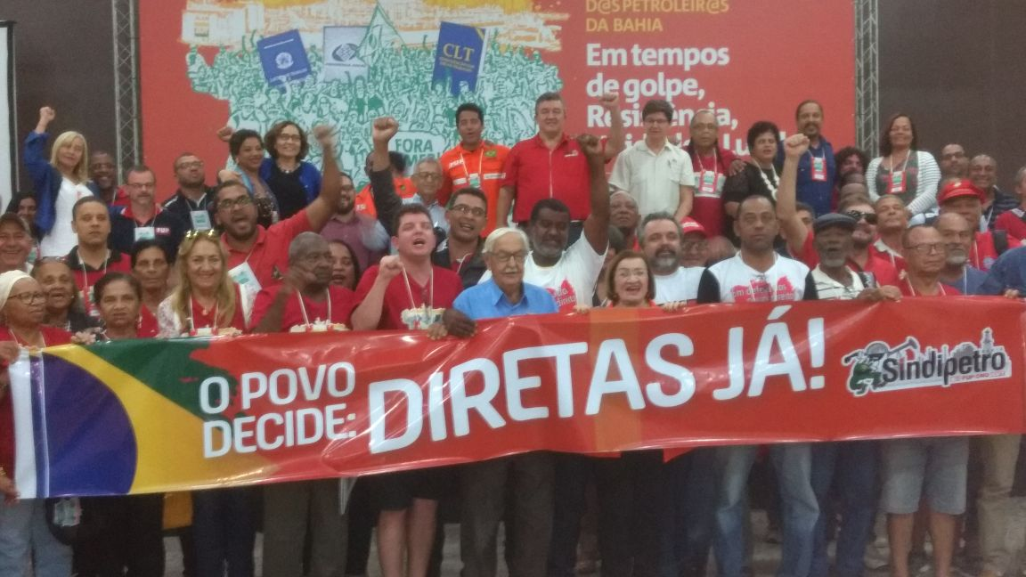 Sinttel participa do VI Congresso do Sindipetro