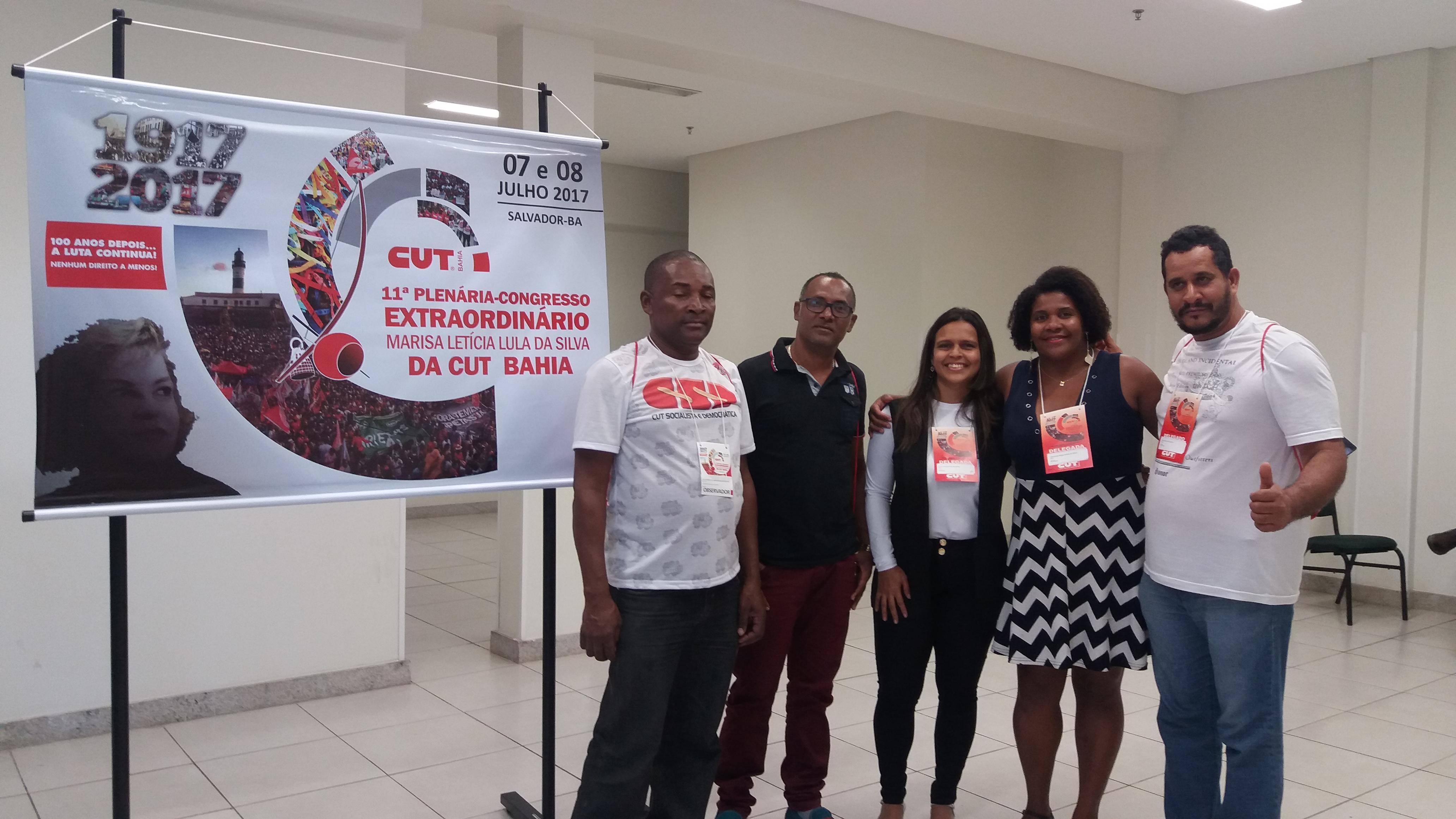 Sinttel participa da 11ª Plenária-Congresso da CUT