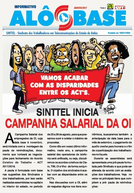 Sinttel inicia Campanha Salarial da OI