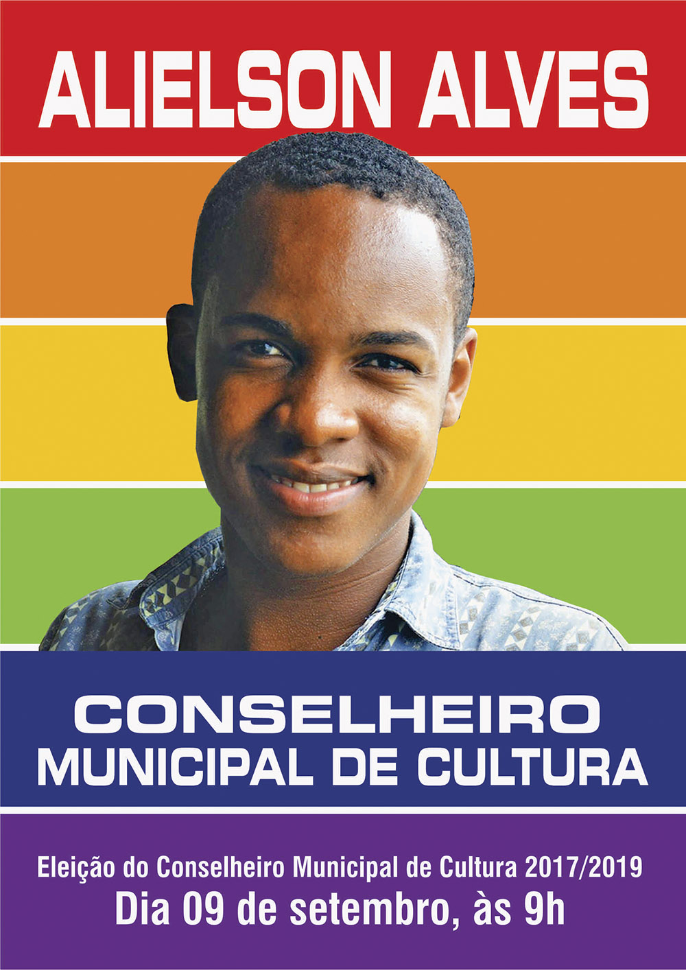 Dirigente do Sinttel se candidata  a Conselheiro de Cultura de FSA