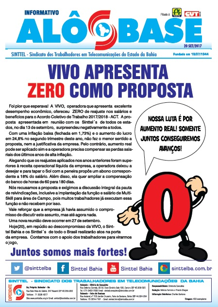 VIVO apresenta ZERO como proposta