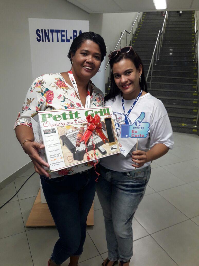 Campanha de sindicalização do Sinttel Bahia já premiou dezenas de trabalhadores (as) telefônicos (as)