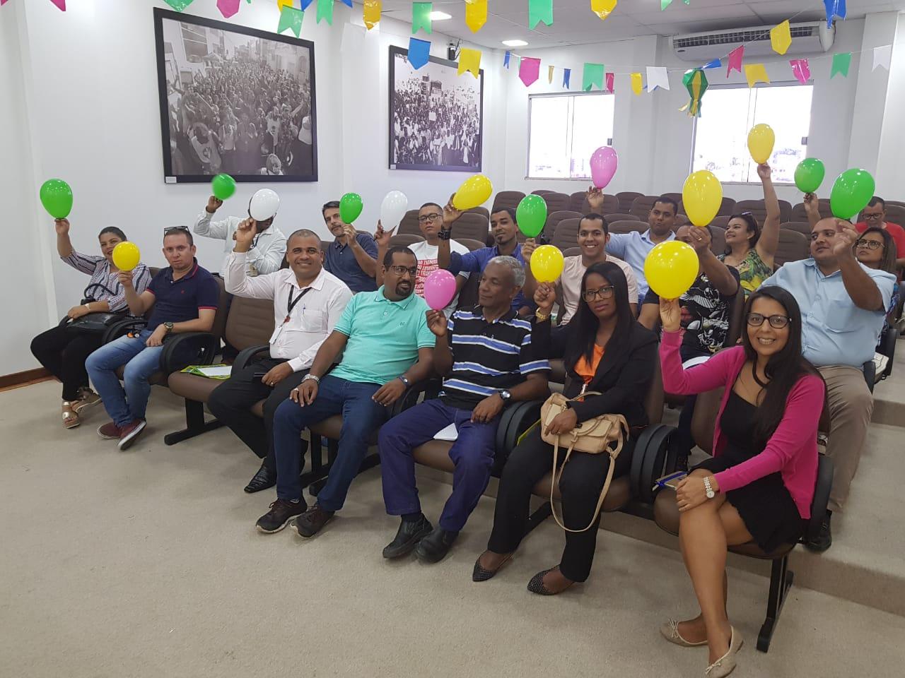 Sinttel Bahia inicia calendário de ações com os cipistas