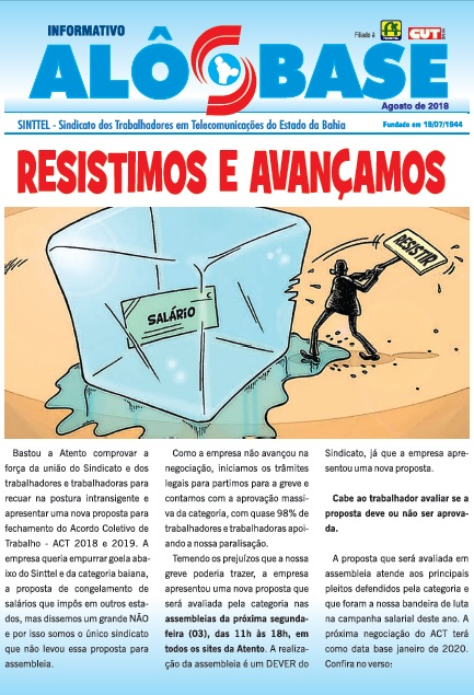 ACT da Atento: Resistimos e Avançamos